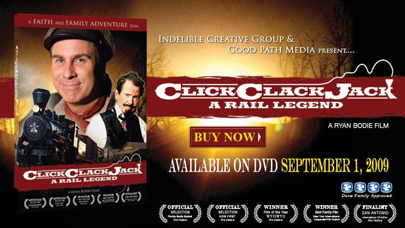 Click Clack Jack DVD On Sale NOW!